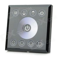 Touch Panel Single Color LED Strip Dimmer 12V 24V Light Dimmer Switch Controller Free Shipping