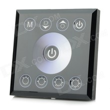 Touch Panel Single Color LED Strip Dimmer 12V-24V ,Light Dimmer Switch Controller  Free Shipping