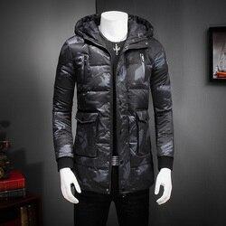 Top quality men winter jacket mid length camouflage parka men white duck down jacket men hooded.jpg 250x250