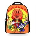 14 дюймов новейшая школьная сумка для детей младшего школьного возраста Janpanese Anime Anpanman Набор для мальчиков и девочек Средняя сумка школьная с...