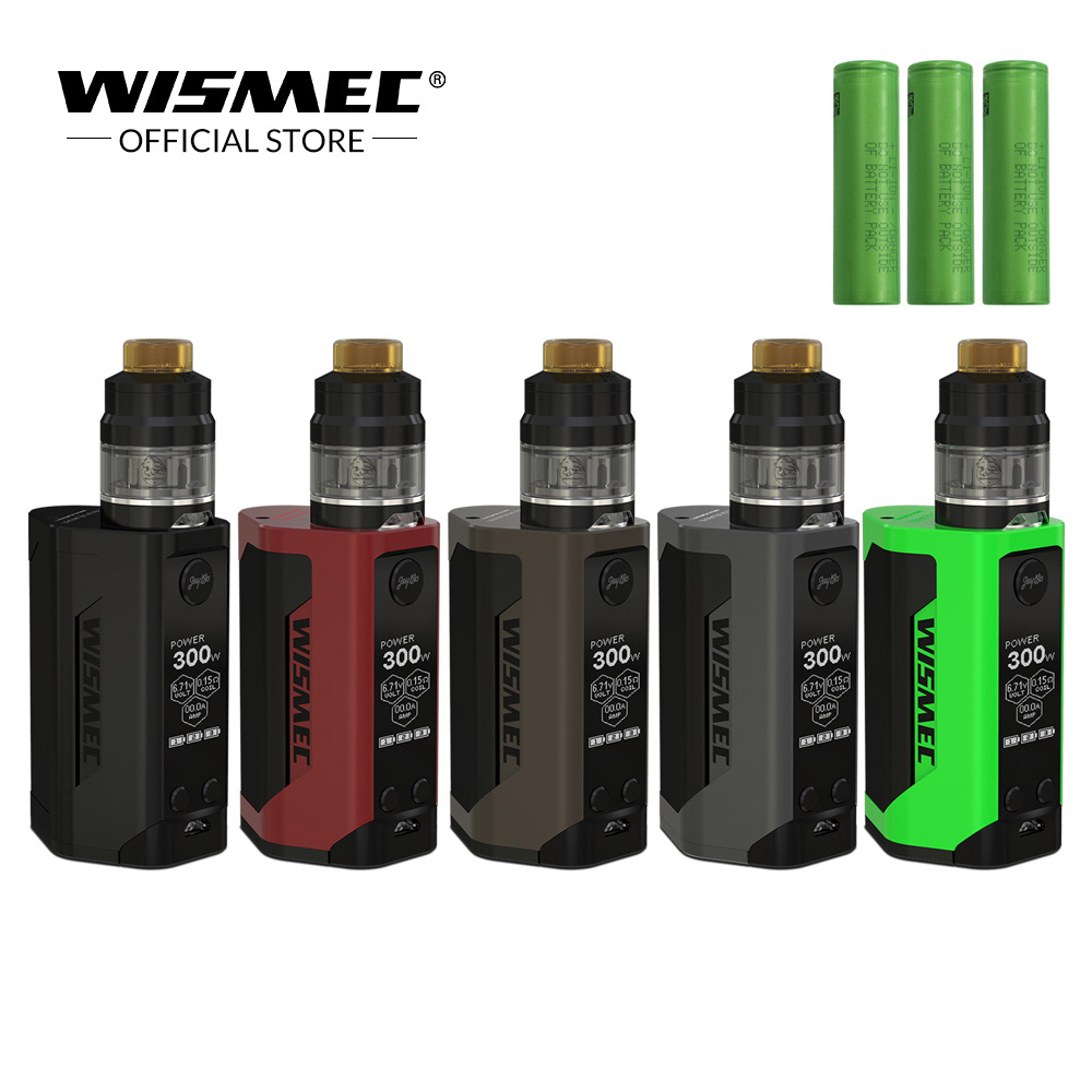 [Official Store]Original Wismec Reuleaux RX GEN3 with GNOME Tank 2ml/4ml Max Output 300W Electronic cigarette with 18650 battery цена 2017
