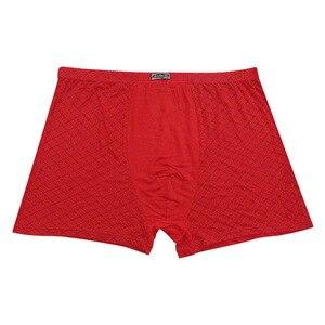 Image 5 - 남자 95% 대나무 섬유 속옷 통기성 망 권투 팬티 남자 속옷 패션 속옷 플러스 크기 9xl, 11xl 5 개/몫