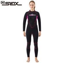 SLINX CORAL Women 3MM Wetsuit Aqualung Neoprene Professional Diving Equipment Surfing Suit Scuba Jumpsuits