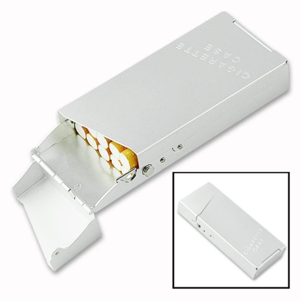 WITUSE WX Travel Aluminum Cigarette Case Portable Ladies Aluminum 10PCS Cigarettes Cigar Pouch Cover Box Holder