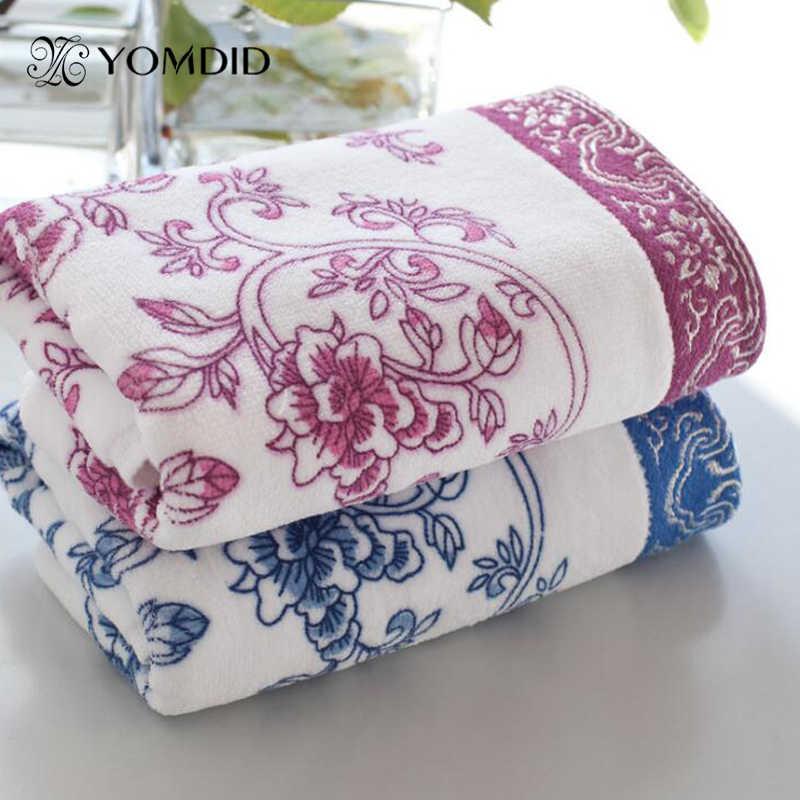 Bawełniany ręcznik kąpielowy osobowość wyjątkowy kwiat 34x74cm ręcznik świetny prezent Toalla de bano de algodon