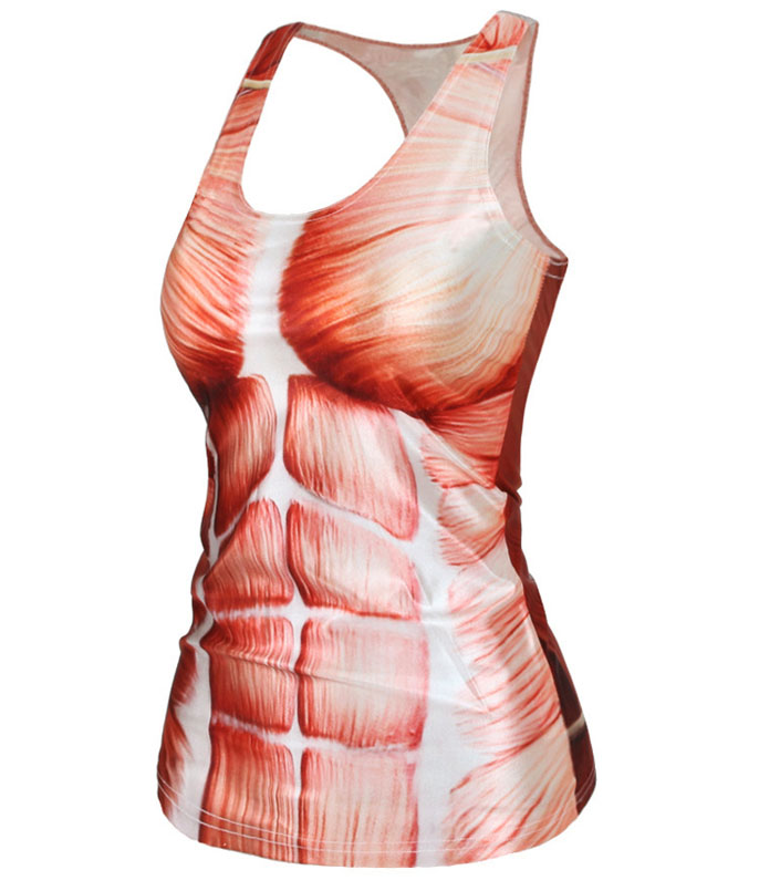 human muscle pattern clothing europe netherlands biological female, Muscles