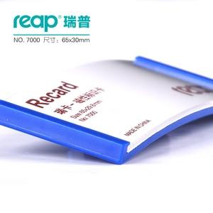 Image 4 - 10 قطع/1 وحدة Reap7000 ABS 70*30 ملليمتر المغناطيسي اسم بطاقة شارة حامل المغناطيس شارات بطاقة الهوية أصحاب العمل بطاقة الموظف