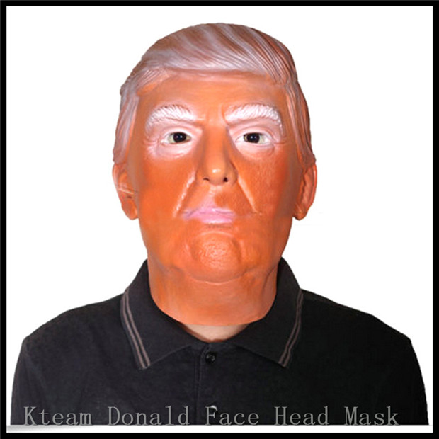 Free Shipping New Arrival 2016 New Presidential Candidate Donald font b Trump b font Human Mask