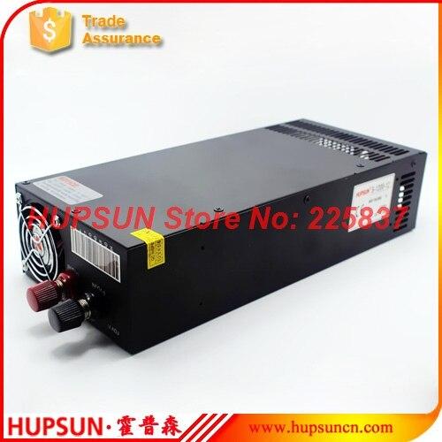 Fonte 1200 w 12volt 100amp 220 v AC à DC 12 v 100a 24 v 50a 48 v 25a pilote de LED d'alimentation de commutation