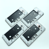 New Middle Plate Frame Bezel Housing Side Button Camera Glass Lens For Samsung Galaxy J7 2016