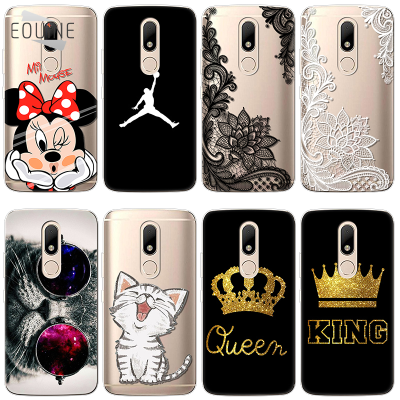 for Motorola Moto C M Z Z2 G3 G4 G5 G5S E4 Plus EU X Style Play Case Silicone Ultra Thin Soft TPU Cases Clear bags Print Cover ...