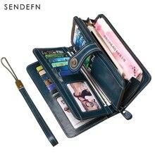 Split Leather Wallet
