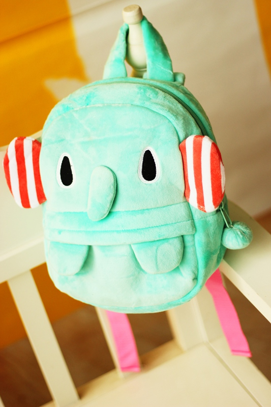 Peppermint elephant backpack for kids hand bags school bags childrens backpack for girls