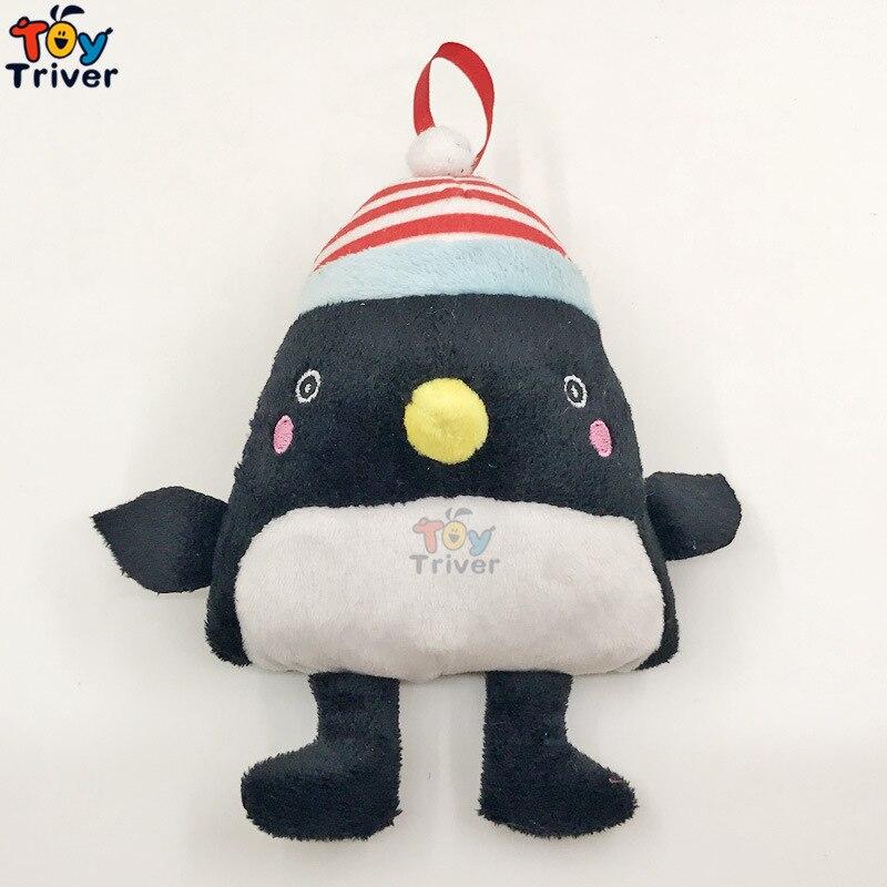16cm Plush Black Penguin Toy Stuffed Doll Pendent Soft Kawaii Birthday Gift for Kids Baby Children Triver