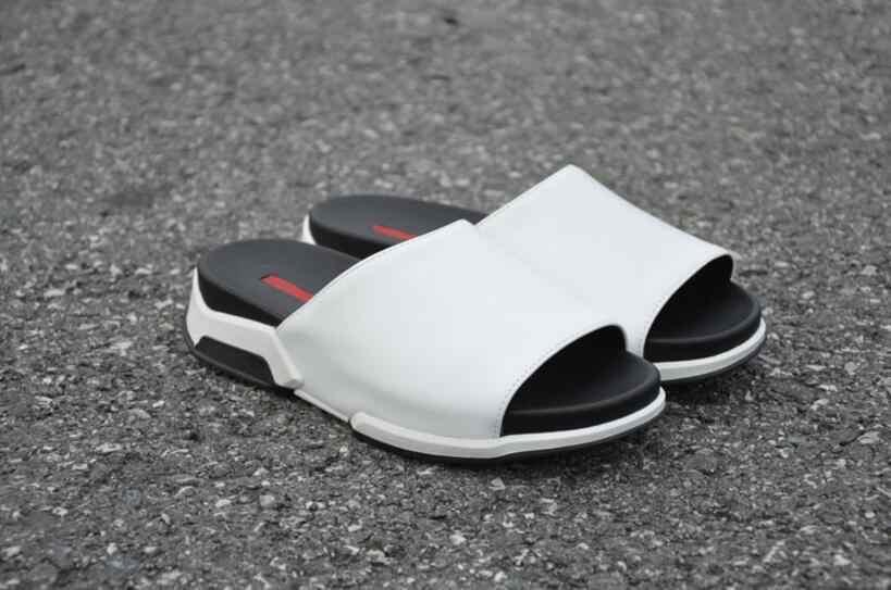 Mannen Sandalen 2018 Mode Mannen Slipper Zomer Strand Schoenen Lover Schoenen Open Teen Slides Kurk Slippers Plus Size 38-45