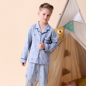 Image 2 - Kids Jongens Katoen Nachtkleding Baby Meisjes Herfst Winter Pyjama Sets Kinderen Cartoon Ondergoed Peuter Warme Slaapkamer Pyjama Pijamas