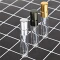 Hohe Qualität 5ml Tragbare Glas Parfüm Flasche Aluminium Zerstäuber Leere Kosmetische Container