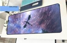 Skyrim геймерский коврик для мыши великолепный 800x300x3 мм игровой коврик для мыши Красочный ноутбук ПК Аксессуары ноутбук padmouse эргономичный коврик