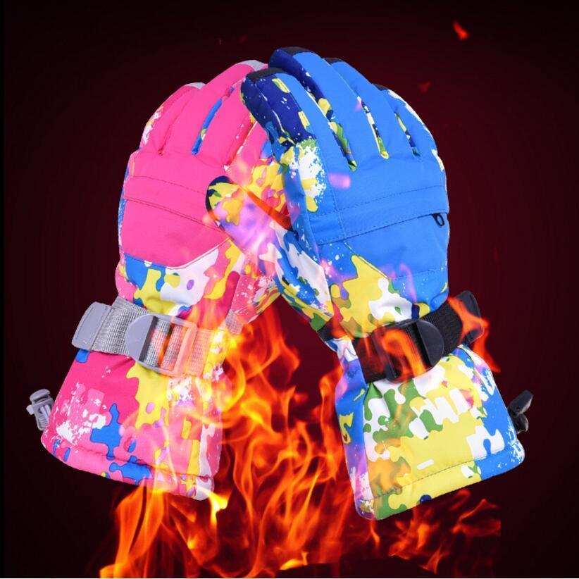 Женские мужские лыжные перчатки Сноуборд Снегоход Мотоцикл езда зимние перчатки ветрозащитные водонепроницаемые теплые унисекс Зимние варежки бренды