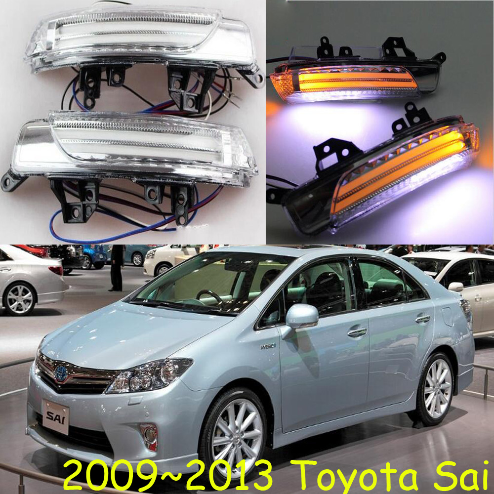 ФОТО car-styling,Sai Mirror light,2009~2013,Free ship!2pcs,Sai mirror light;car-covers,chrome,Sai turn light;Sai