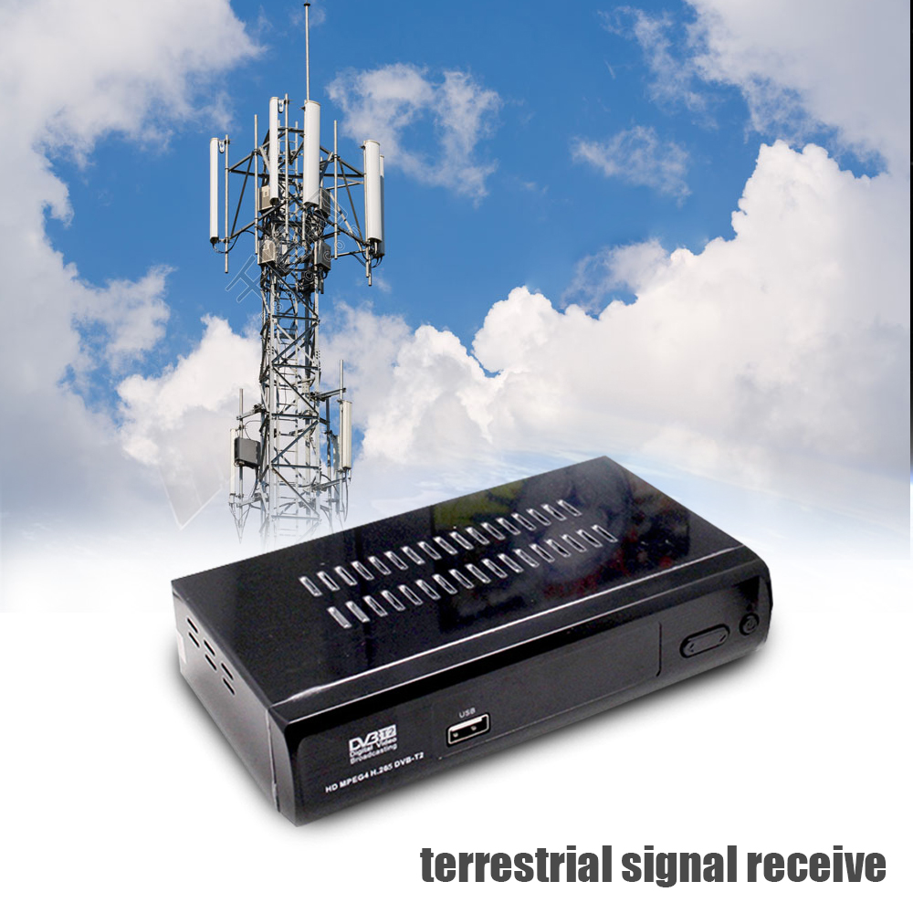 Vmade 2018 Newes full HD DVB T2 M2 Numérique Terrestre Récepteur H.264/MPEG-2/4 avec pour TV HDTV set-top Box Lecteur Multimédia