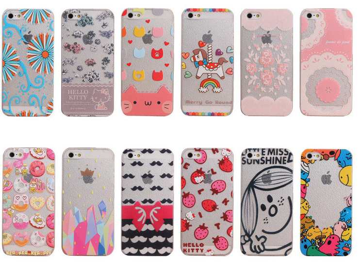 reputable site 9b183 001ef US $2.58 |Kitty print phone case for Iphone 5 5S Snow printed phone cover  strawberry phone case beard printed phone cover on Aliexpress.com | Alibaba  ...