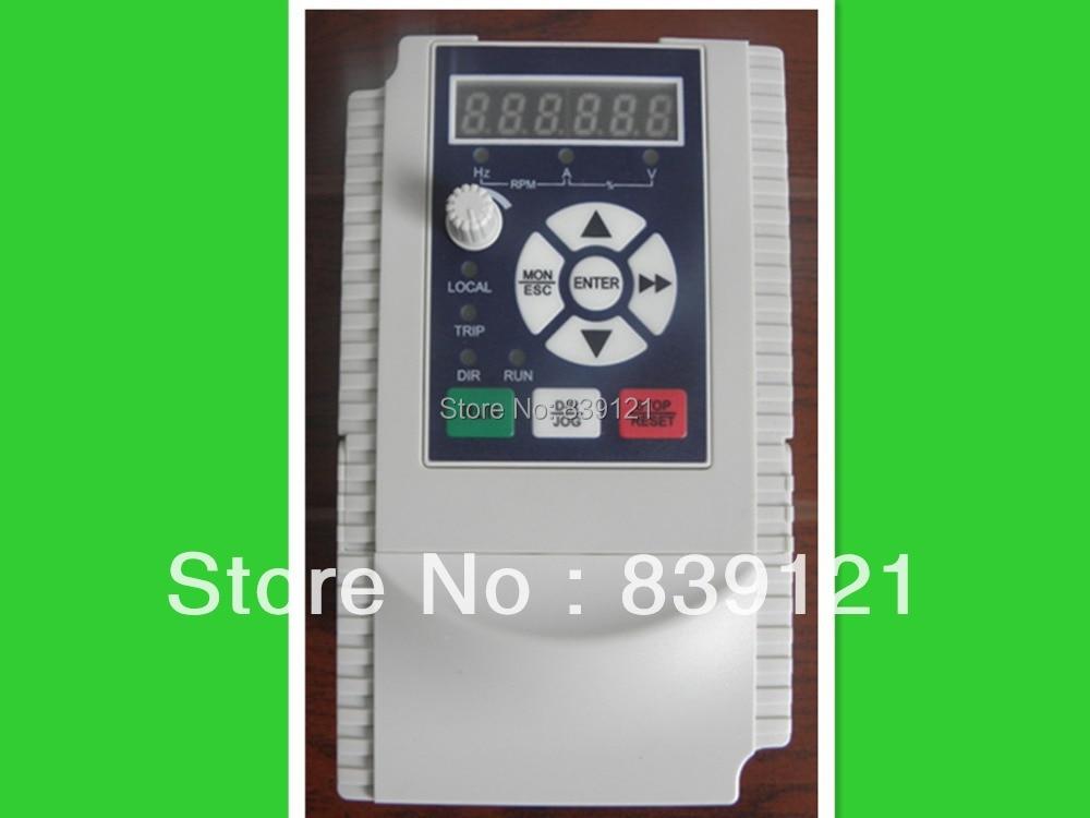 داغ فروش 3HP با کیفیت بالا 2.2KW 10A 220 اینورتر ماشین برای اسپیندل 2.2kw 220v 3 فاز