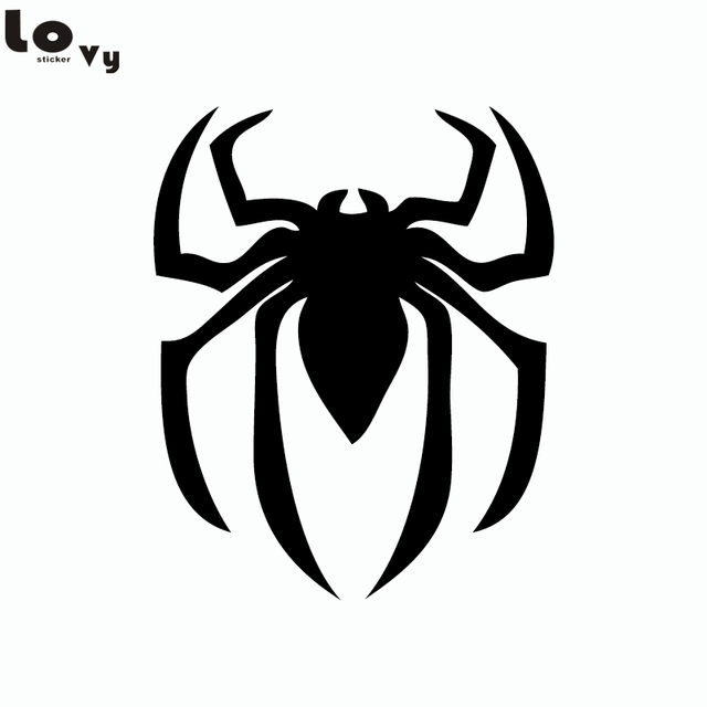 super hero spiderman silhouette wall sticker funny cartoon spider rh aliexpress com cartoon spiderman games cartoon spiderman youtube