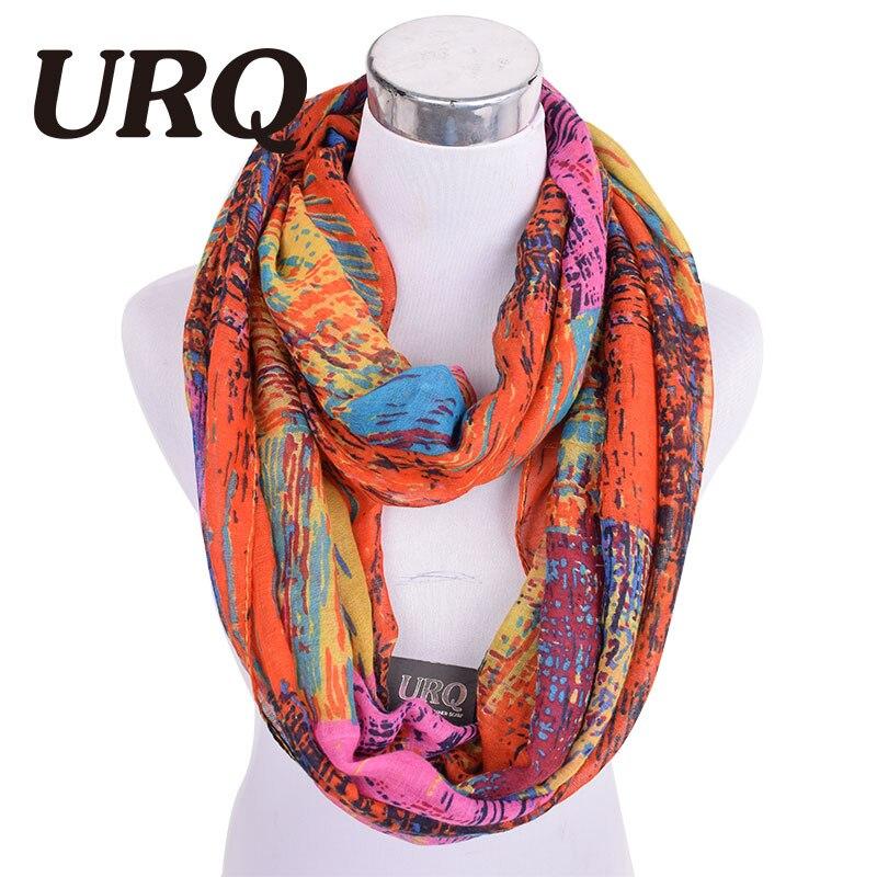 Design Fashion Cotton Infinity scarves Hs