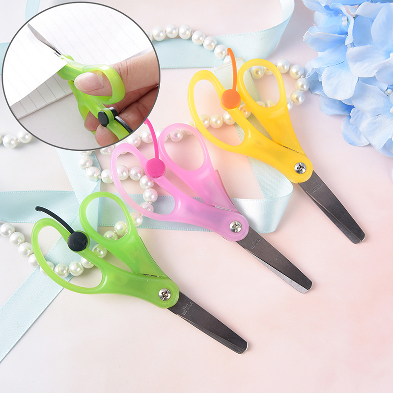 Peerless 1 Pcs Handmade Diy Photo Album Laciness Plastic Mini Scissors Children Safety Scissors Tesoura Paper Lace Diary Decor Latest Fashion Office & School Supplies Cutting Supplies