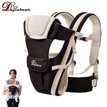 Dajinbear Baby Backpack Carrier Ergonomic Baby Sling Breathable 4 Positions Front Facing Kangaroo Horizontal Infant Wrap