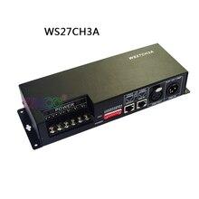Constant pressure DC5V-24V DC12V-24V 3CH/4CH/9CH/24CH/27CH  RGB DMX decoder,  DMX 512 Controller for led lamp led light