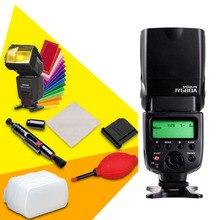 Viltrox jy-680a universal lcd flash speedlight para canon nikon pentax olympus cámaras, rebote Difusor Limpiador Cámara Lente Penr