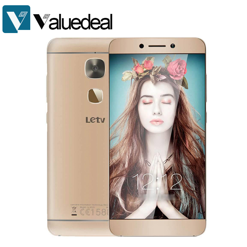 In stock LeTV LeEco Le X526 Android 6.0 5.5 Inch 4G LTE Smartphone FHD Screen 3G 32GB for Qualcomm Snapdragon 652 16.0MP phone
