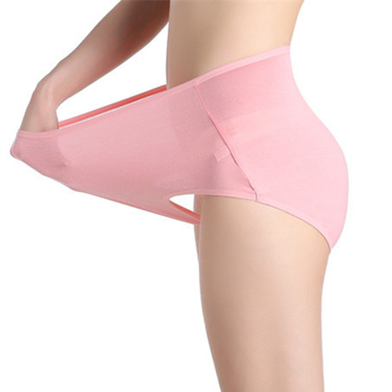 Women's briefs lingeries Plus size 8XL Big Size high Waist woman Soft cotton Super Large Mother underwears women   panties