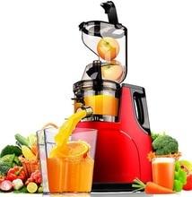 ドイツモーター技術新大型口スロージューサーフルーツ野菜柑橘類低速ジューサー