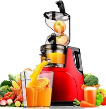Presse agrumes, presse fruits, légumes, agrumes, basse vitesse, technologie allemande