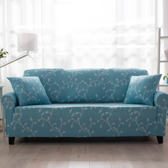 Fresh stretch sofa cover single double three four seater universal