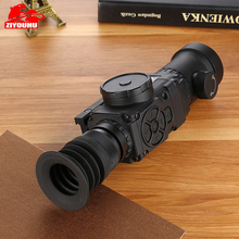 ZIYOUHU Thermal Imaging Night Vision Aiming Scope Enhanced HD Infrared Monocular Sight Riflescope Hunting Imager