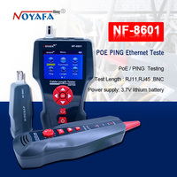 NF 8601 Multi functional Network Cable Tester LCD Cable length Tester Breakpoint Tester English version NF_8601