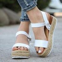 Women Shoes Summer Wedge Platform Casual sandals Female Fashion Classic sandals Plus Size 35 43