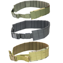 Camouflage MOLLE Belt Padded