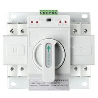 Dual Power Automatic Transfer Switch 2P63A Switch Gear Switch Cb Class Ats Home Single Phase 220V