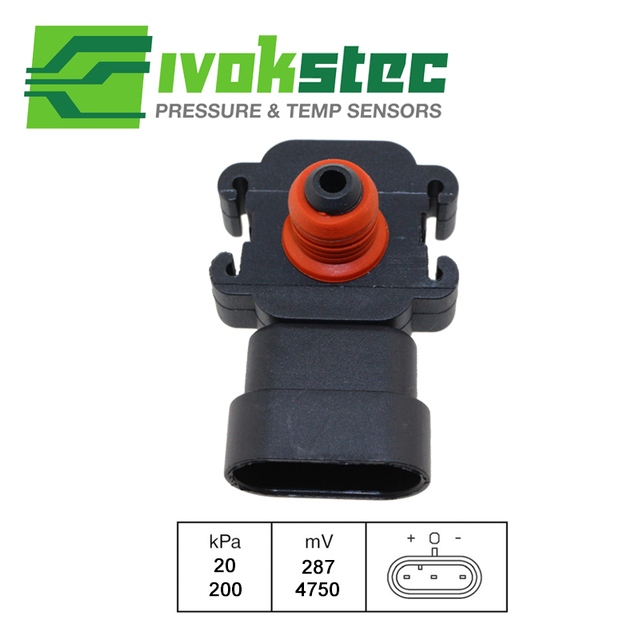 Map Pressure Sensor For Vauxhall Opel Astra Iv G Combo Ii Corsa Iii