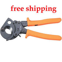 VC-30A Ratchet Cable Cutter cutting 240mm2 Cu/Al cables STEEL PLATE