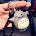 2017  Cartoon Car Keychain 2 Colors Animal Key Chain Cute Totoro Keychain Chaveiros Mini Keyring Girl for Little Trinket Charm