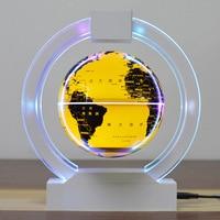 Levitation floating globe Novelty gifts Chrismas lights Magnetic levitating lamp 6 circular globe Creative novelty lights