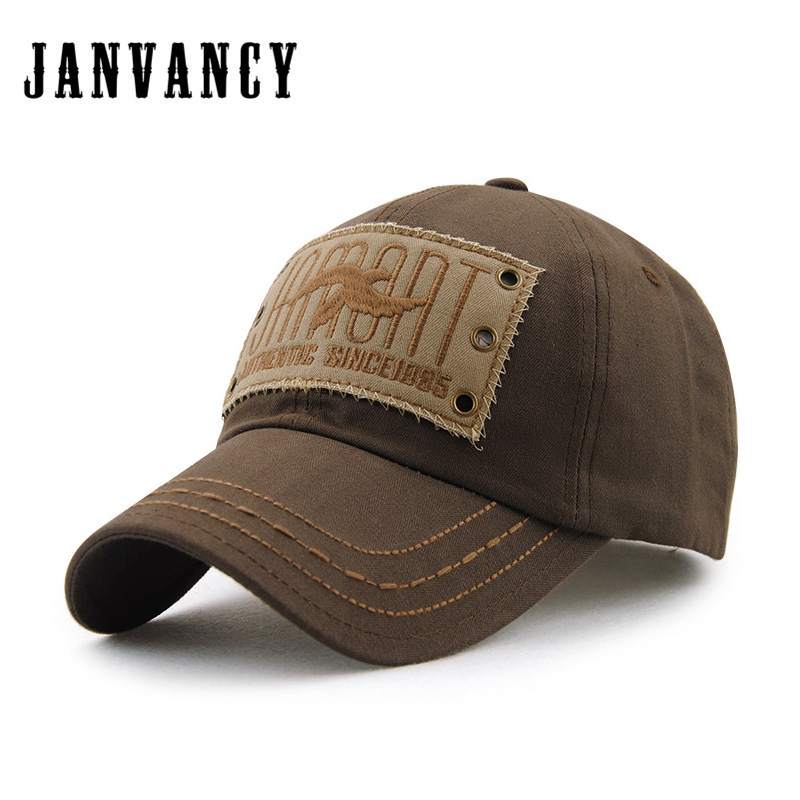 Janvancy Papa Chapeau Réglable Snapback Chapeaux et Casquettes Hommes Femelle Os Broderie Conception Marque Qualité
