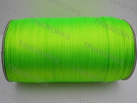 FREE SHIPPING 300meters/327Yards Fluorescent Green Rattail Satin Cord/Thread Chinese knot/Nylon beading cord for Jewelry Macrame