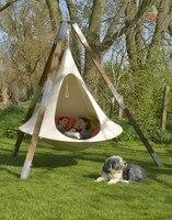 UFO Shape Teepee Tree Hanging Silkworm Cocoon Swing Chair For Kids & Adults Indoor Outdoor Hammock Tent Hamaca Patio Furniture